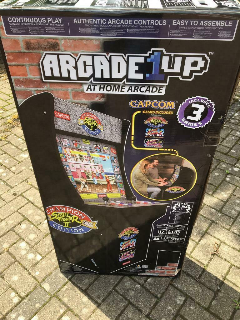Arcade 1 up street fighter edition   in Ponteland, Tyne and Wear   Gumtree