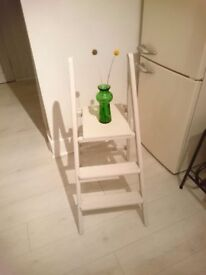 Small Step Ladder , Chalk Painted
