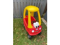 Baby toy car never used