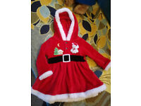 12 month babygirl Christmas French outfit (Horfield) excellent condition