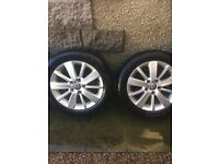 VW Golf Alloys & Winter Tyres