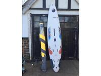 Racetech windsurf pro board and sail £30 to clear