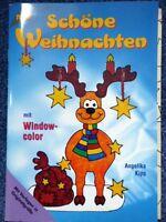 """Window Color Thema """"Schöne Weihnachten"""" mit 2 Vorlagebögen Rheinland-Pfalz - Zehnhausen bei Wallmerod Vorschau"""