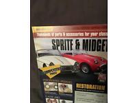 Sprite and midget booklet call Bristol mobile number 07852 750932
