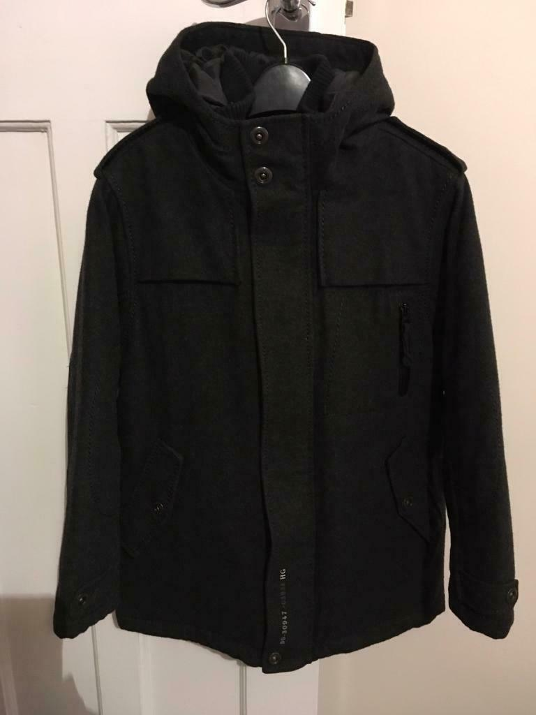 08af588e8130 NEXT Aged 9 years Boys wool mix coat