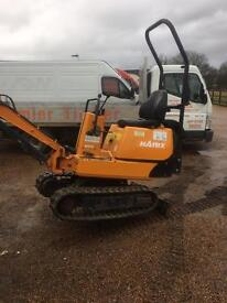Hanix h08 Micro digger 2007 only 0809 hours