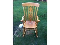 Large pone rocking chair