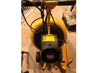 Belle Minimix 130 Concrete Mixer / Cement Mixer, 230v, used domestically only, with instructions