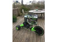 Green Machine 180 degrees drift kart