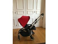 Bugaboo Bee 3 - 2016 model impeccable condition with carry cot (RP £740)