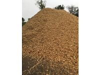 Woodchip decorative mulch