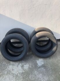 """Set of 4 17"""" Maxxis tyers"""