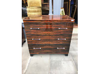 Modern Chest of Drawers , good quality and condition. With 3 drawers .