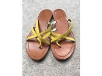 Boden Leather sandal size 5