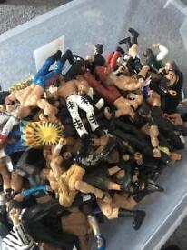 Wrestling figures. Have many different ones ask for price