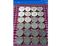 Rare pound coins