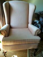 Wing Back Chairs (2)