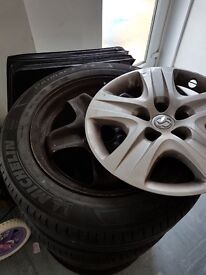 Vauxhall insignia original wheels
