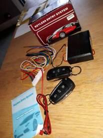 remote central locking kit car/van