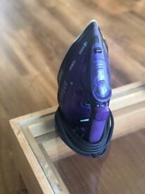 Practically new cordless iron