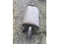 Ford ka 96-07 rear Exhaust section