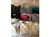 Job lot of x14 Ladies Womes Jumpers to fit size 10 - Various some with labels removed but never worn