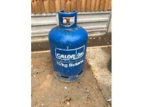 15kg Butane gas bottle at least 3/4 full.