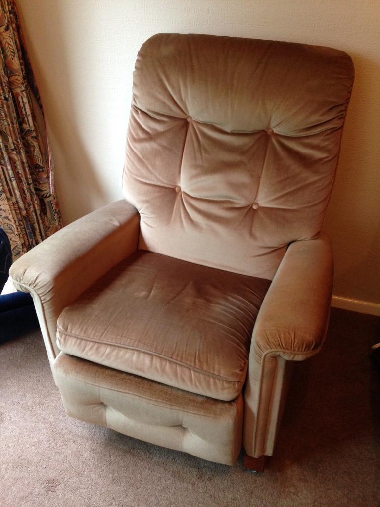 Parker knoll beige chair