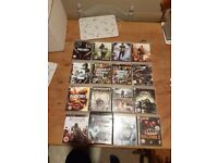Selection of PS3 games.