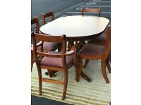 Dining Table & 6 Chairs (@07519500790)