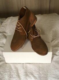 Monarch Suede Boots by J Shoes - UK 8 - Eur 42