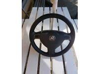 Vauxhall vectra c steering wheel