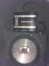 Crunch speaker