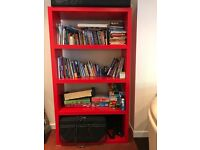 Red ikea bookcase good as NEW!! Willenhall walsall Wolverhampton