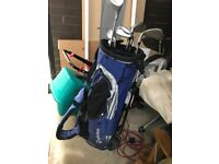 Taylor Made Irons, Bag and Ping Putter