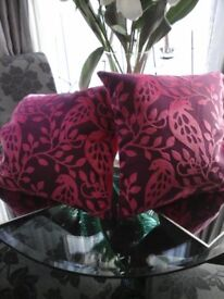 Next Beautiful quality pair of cushions