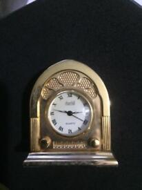 Stunning solid brass Radio Clock NOW SOLD