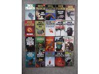 20 different Dick Francis paperbacks