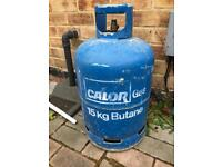 Empty calor gas Butane 15kg