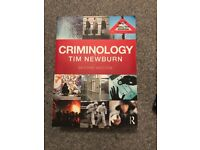 *CRIMINOLOGY BOOKS* - Three Criminology books for sale, great condition, used for Criminology degree
