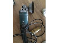 110v makita grinder/ wire brush