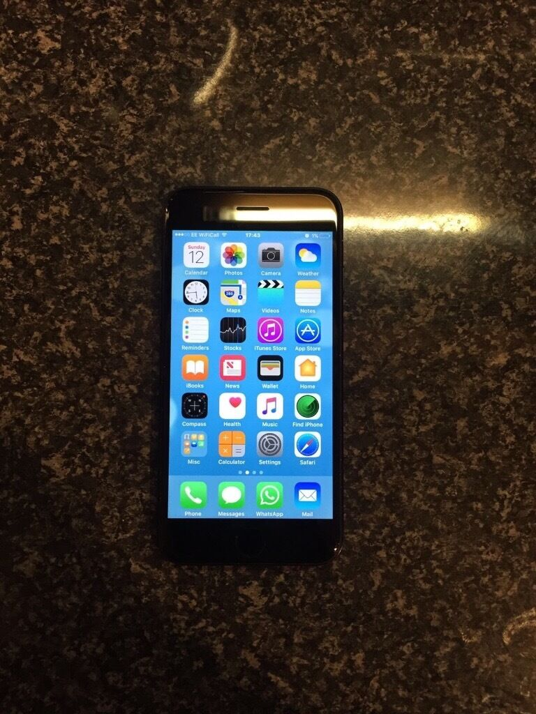 Apple IPhone 7 EEin Chellaston, DerbyshireGumtree - Apple IPhone 7 (Black EE) NO TIME WASTERS PLEASE SERIOUS BIDS ONLY. I have for sale a black Apple IPhone 7 on EE network. The phone comes with the following below. X1 Apple IPhone 7 32gb Black X1 Apple IPhone Box X1 Apple IPhone earphones X1 Apple...