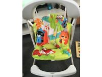 Fisher price baby swing vibration chair