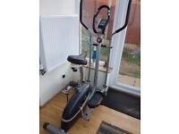 V-fit MCCT-1 Magnetic 2-in-1 Cycle Elliptical Cross Trainer