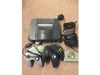 nintendo 64 - fully working