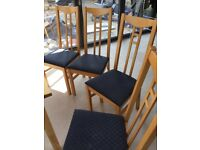 Chairs 4 dining chairs