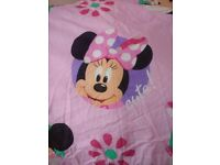 2 Brand new Minni mouse duvet covers and pillow cases