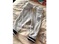 Baby boy Timberland joggers