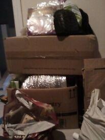 Mixed box of eltri ial items