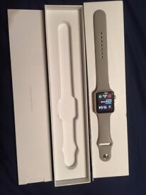 Apple watch 42mm in an immaculate condition.